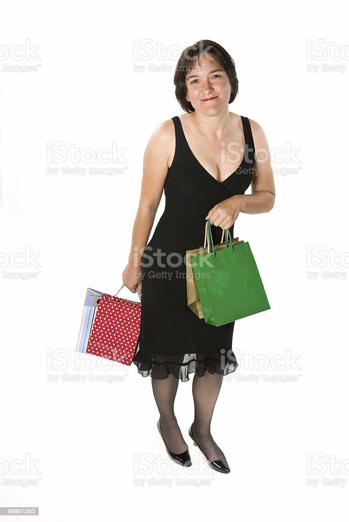 Shopper Lizenzfreies stock-foto