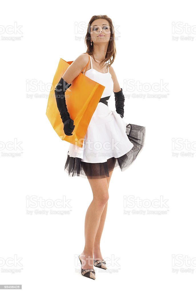 shopper royalty-free stock photo