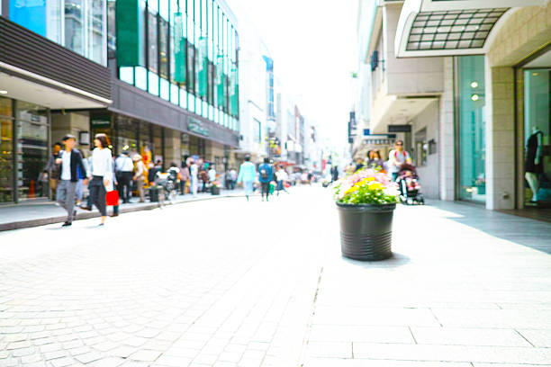 zakupy spaceru ulica handlowa - prefektura kanagawa zdjęcia i obrazy z banku zdjęć