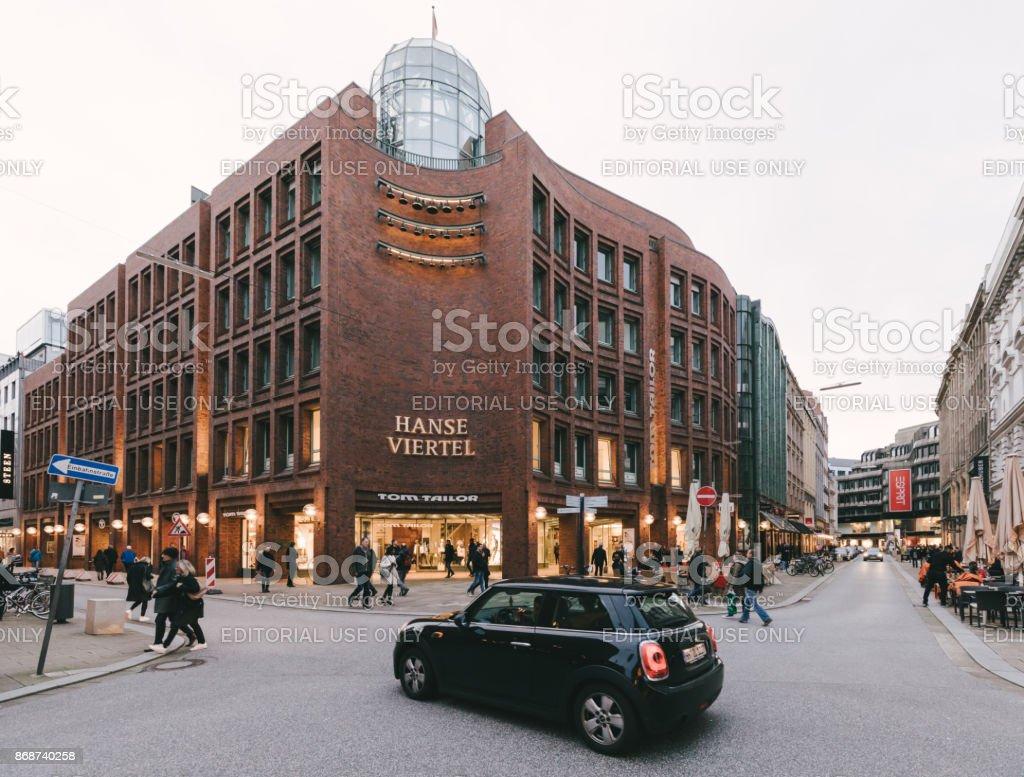 great look detailed images buy best Shopping Arcade Hanse Viertel Hamburg Stock Photo - Download ...