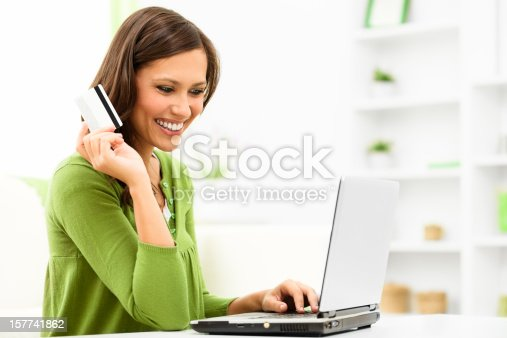 istock Shopping at home 157741862