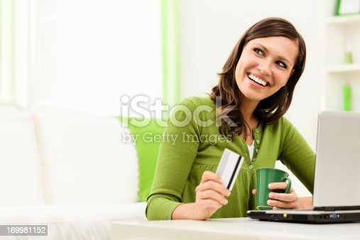 istock Shopping at home 169981152