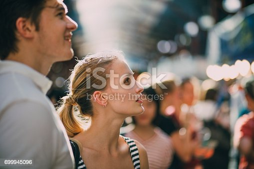 istock Shopping At Queen Victoria Market 699945096