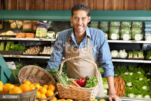 istock Shopping at the market 507209941