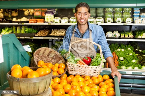 istock Shopping at the market 507209949