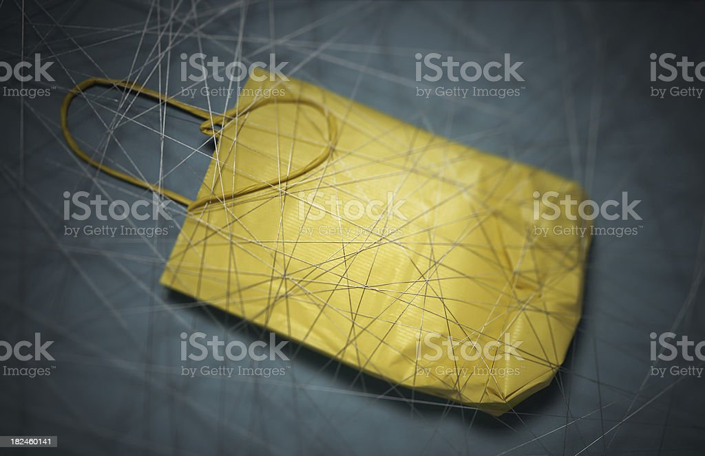 Shopping bag. royalty-free stock photo