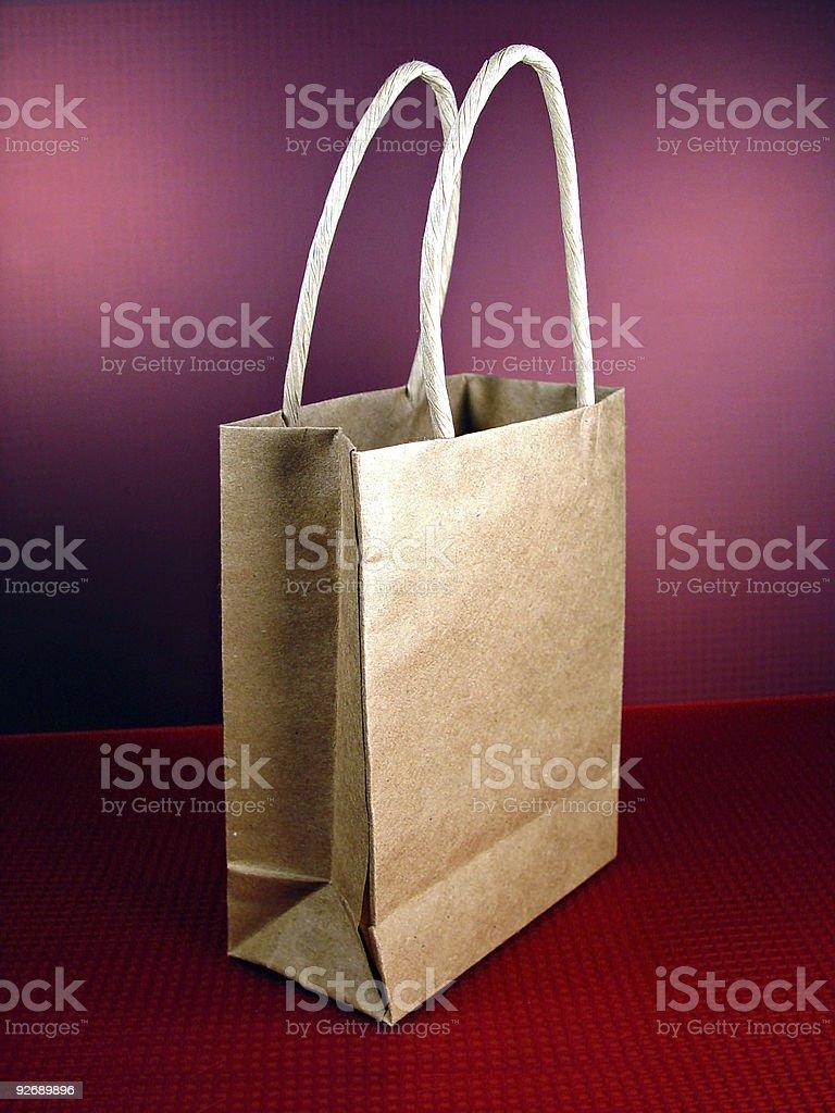 Shopping Bag, Upright royalty-free stock photo