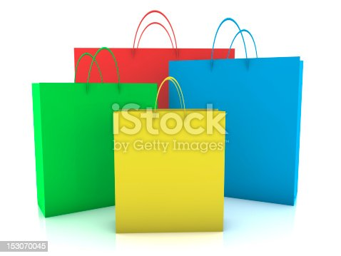 istock Shopping Bags 153070045