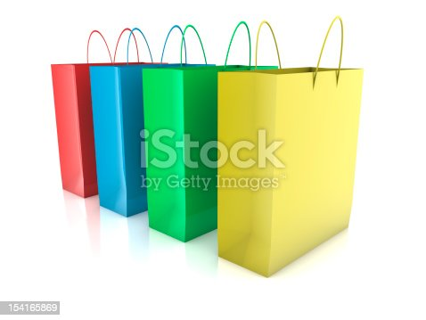 istock Shopping Bags 154165869