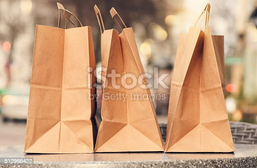 istock Shopping bags 512966422