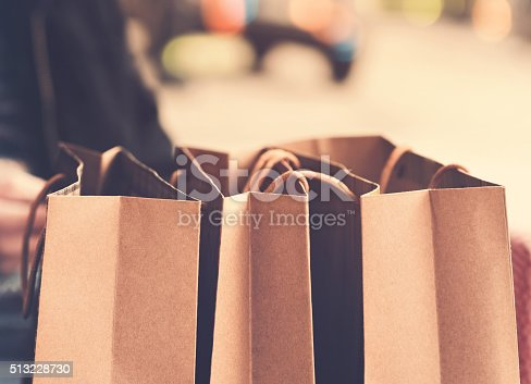 istock Shopping bags 513228730