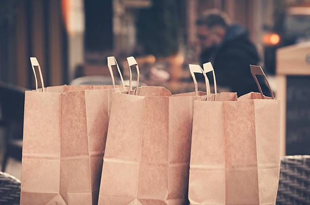 Einkaufstaschen – Foto
