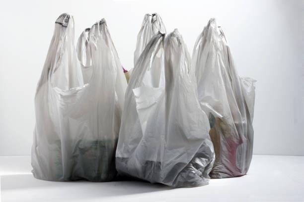sacs de shopping - sac en plastique photos et images de collection