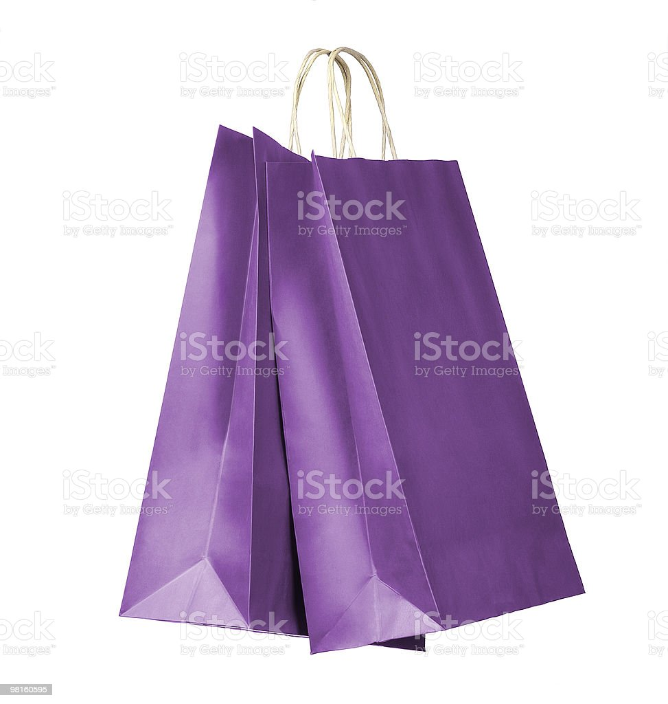 Shopping bags royalty-free stock photo