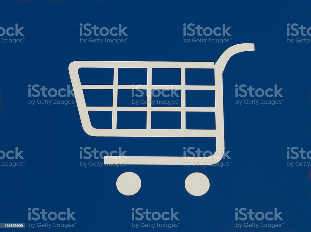 Shopping Basket stock photo