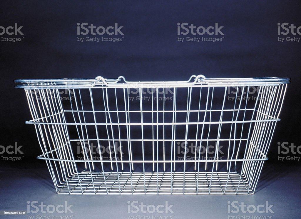 Shopping Einkaufskorb Lizenzfreies stock-foto