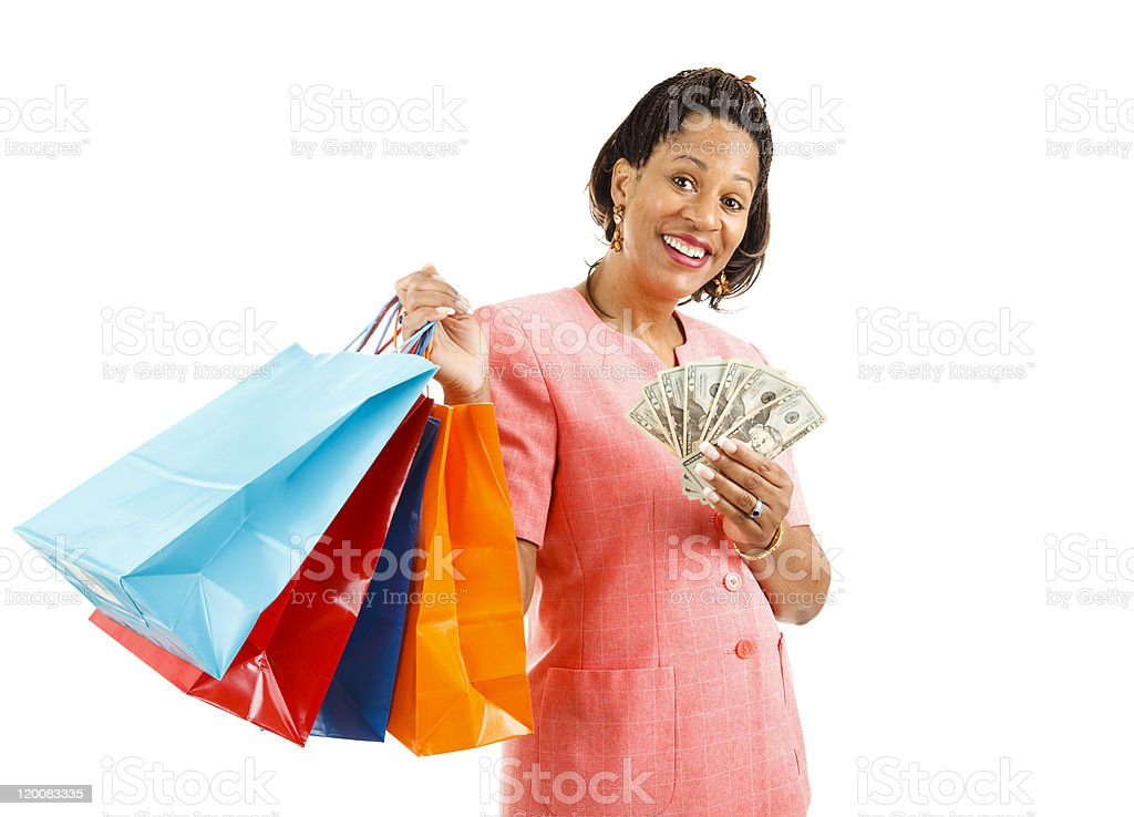 Shopping - Big Spender stock photo