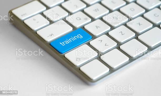 Eğitim Düğmesi Vurgulanmış Ile Alışveriş Buttonkeyboard Stok Fotoğraflar & Anahtar'nin Daha Fazla Resimleri