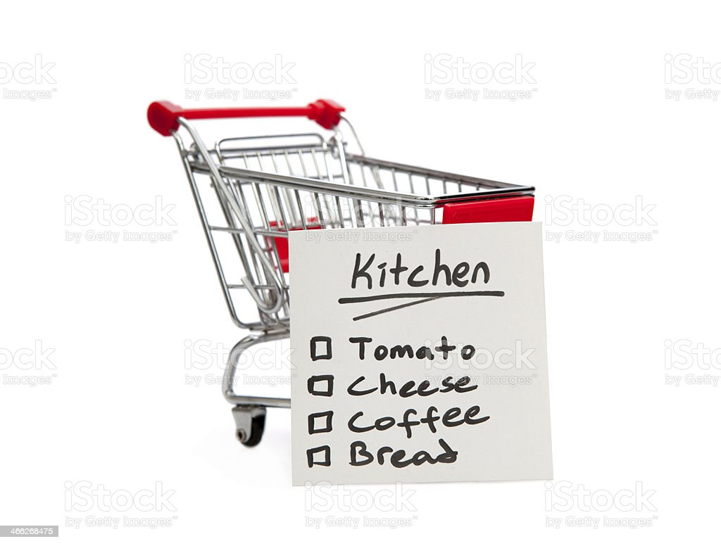 Shopping Cart and List