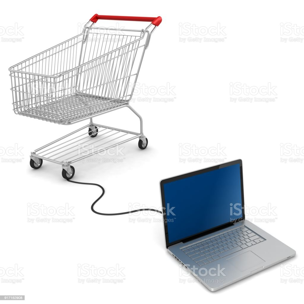 adc13e42d Shopping Cart Internet Online Ecommerce Stock Photo   More Pictures ...
