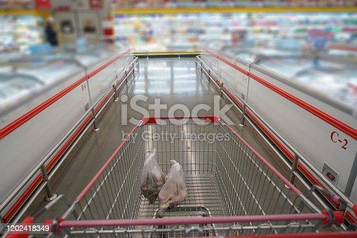 istock Shopping cart 1202418349