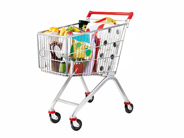 shopping cart (click for more) - full stock photos and pictures