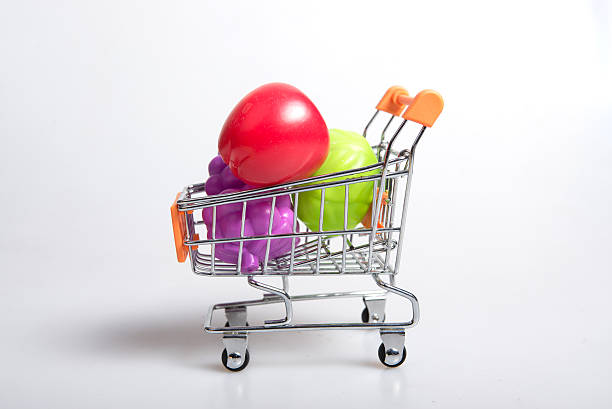 shopping Einkaufswagen – Foto