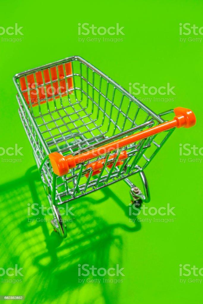 Shopping cart zbiór zdjęć royalty-free