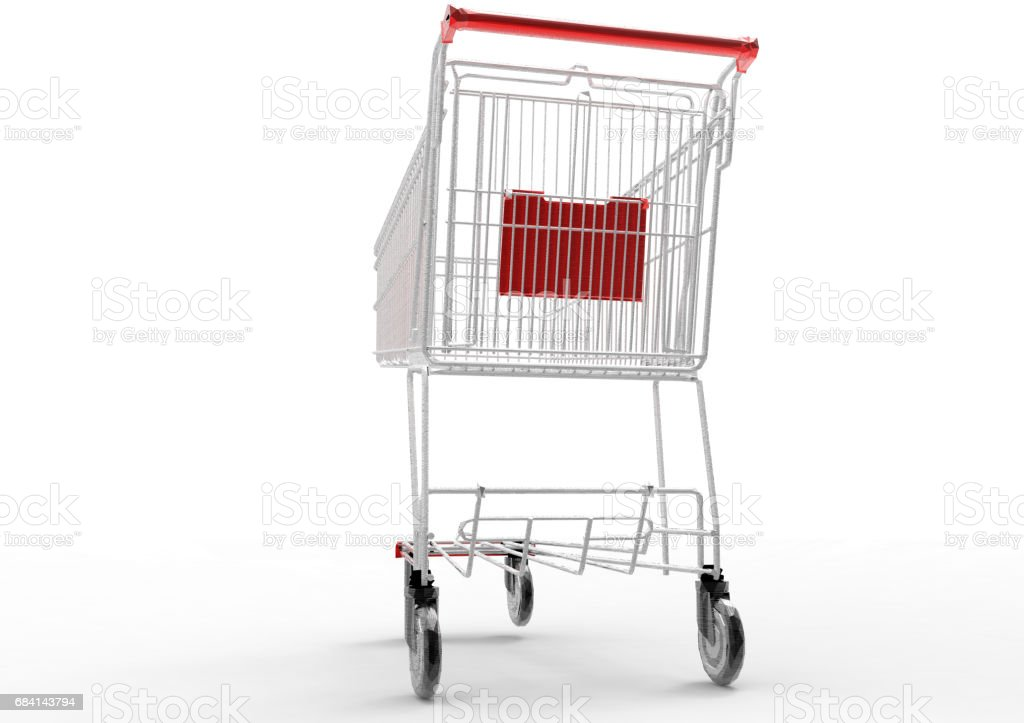 Uw winkelwagen royalty free stockfoto