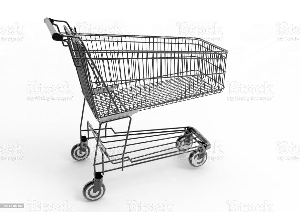 Shopping cart foto stock royalty-free