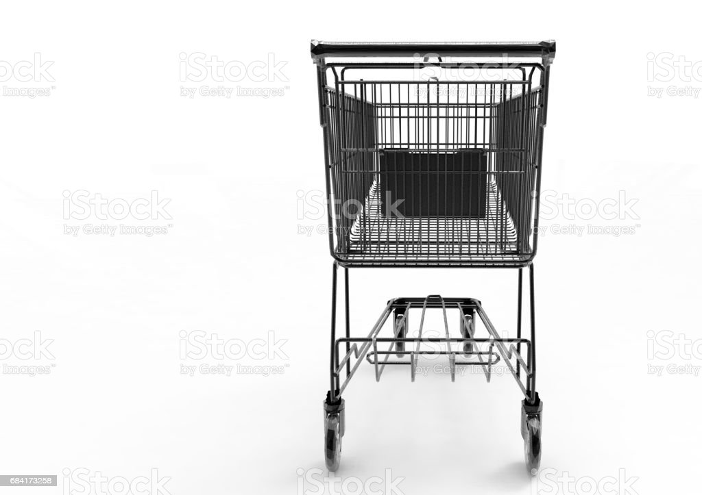 Shopping cart foto stock royalty-free