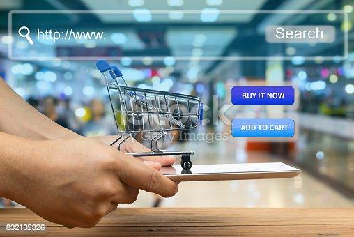 istock shopping cart 832102326