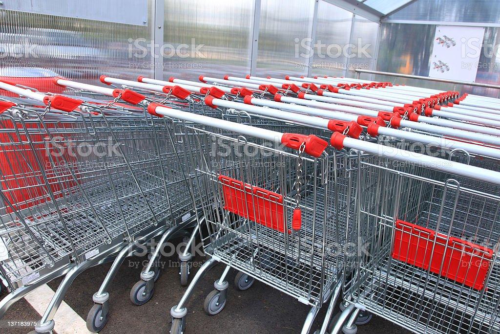 Shopping cart series XXL royalty-free stock photo