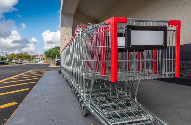 Einkaufswagen – Foto