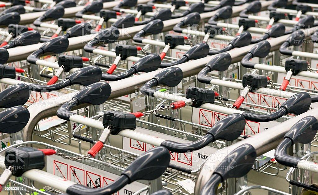 Einkaufswagen Lizenzfreies stock-foto