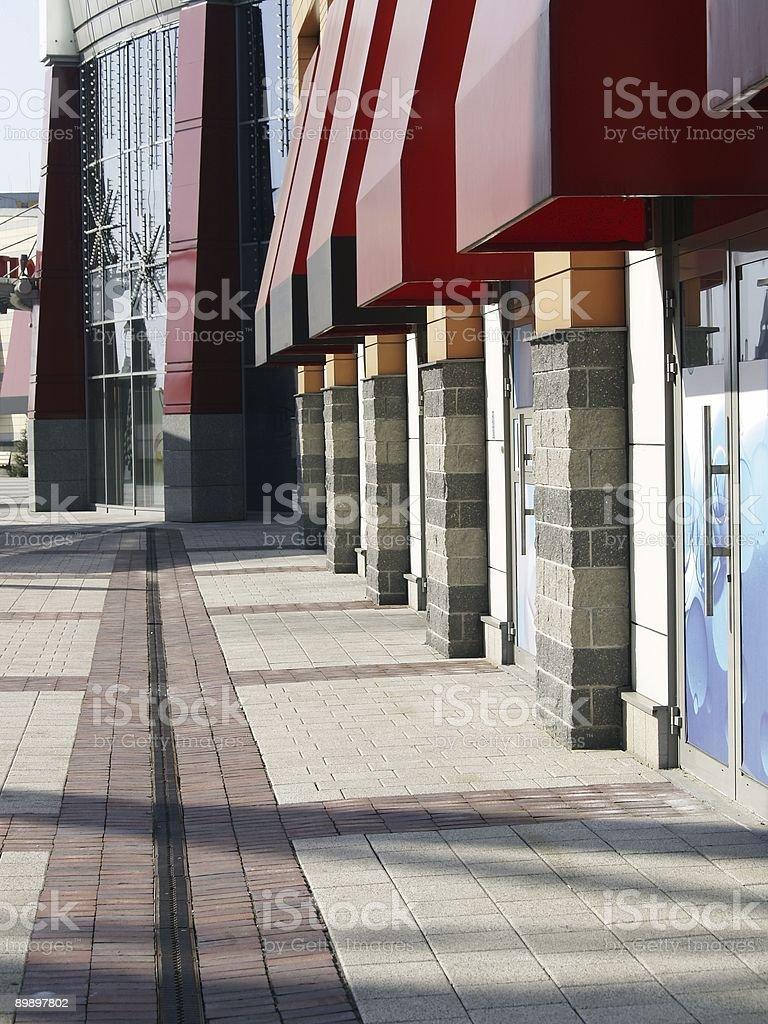 Einkaufszentrum 01 Lizenzfreies stock-foto