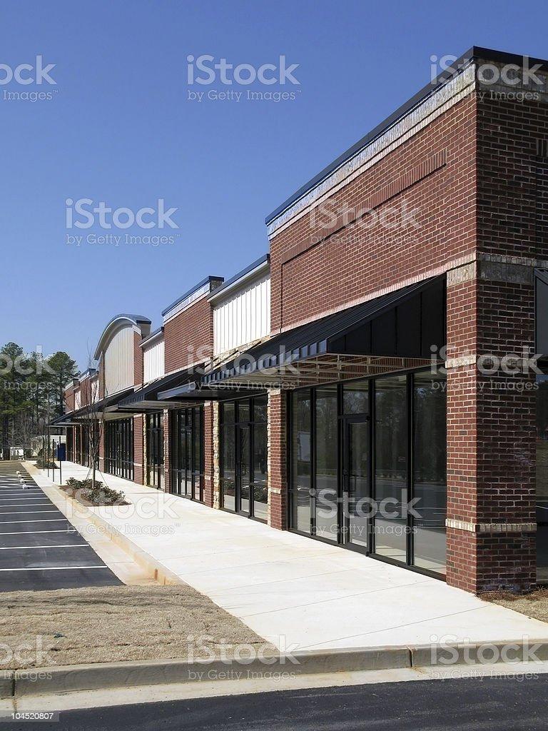 Shopping Center Construction stock photo