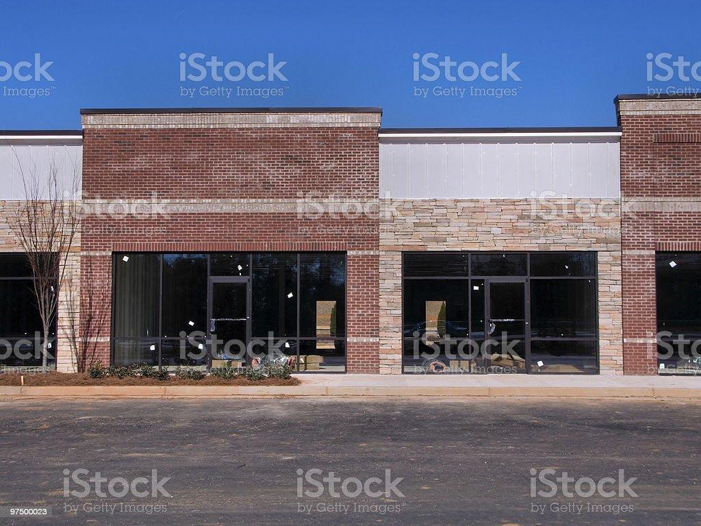 Shopping Center Construction royalty-free stock photo