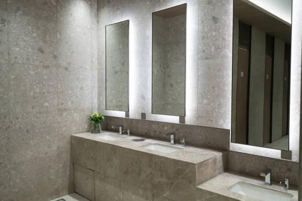 Einkaufszentrum Luxus-Waschraum – Foto