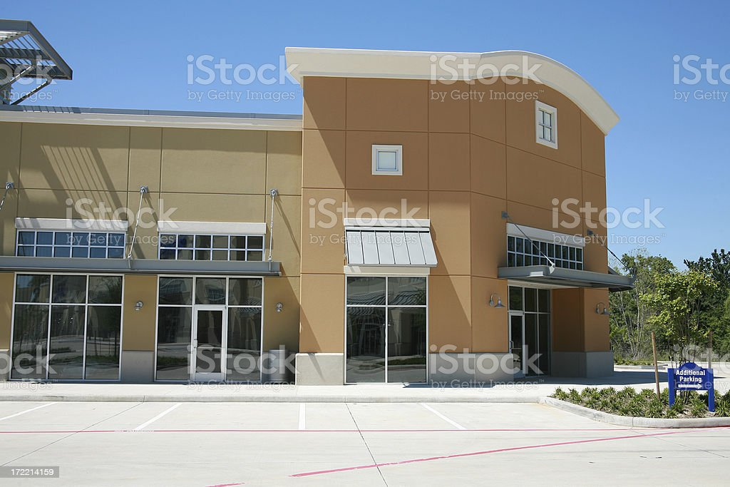 Shopping Center stock photo