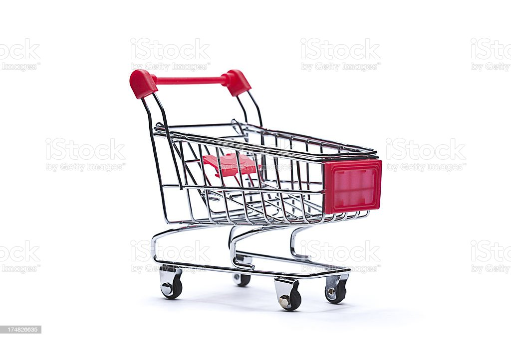 Shopping chart royalty-free stock photo
