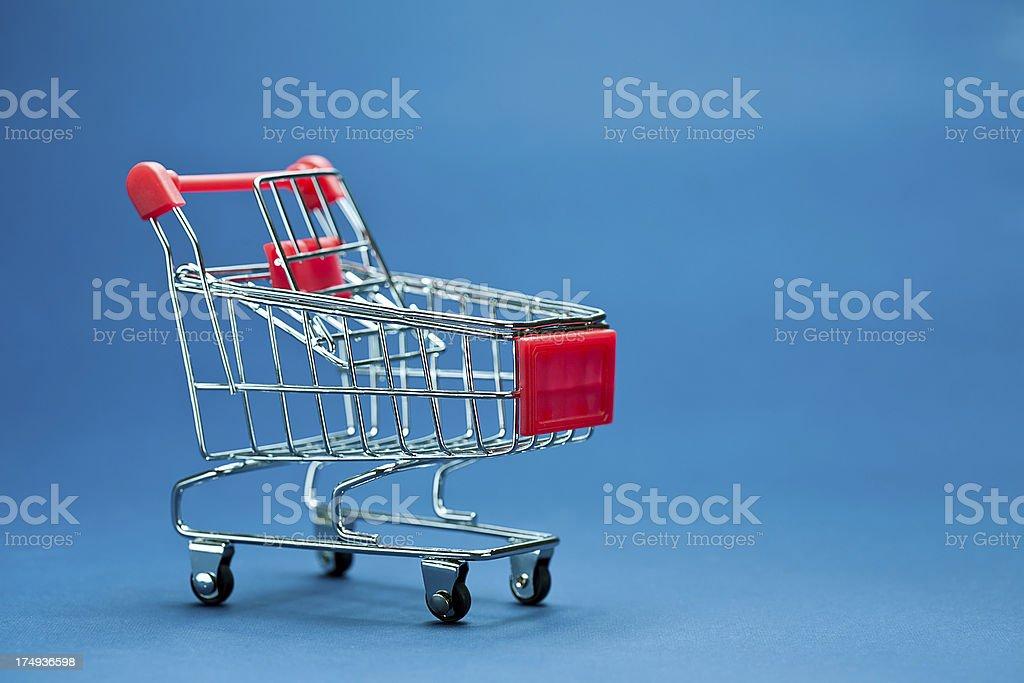 Shopping chart royalty-free stock photo