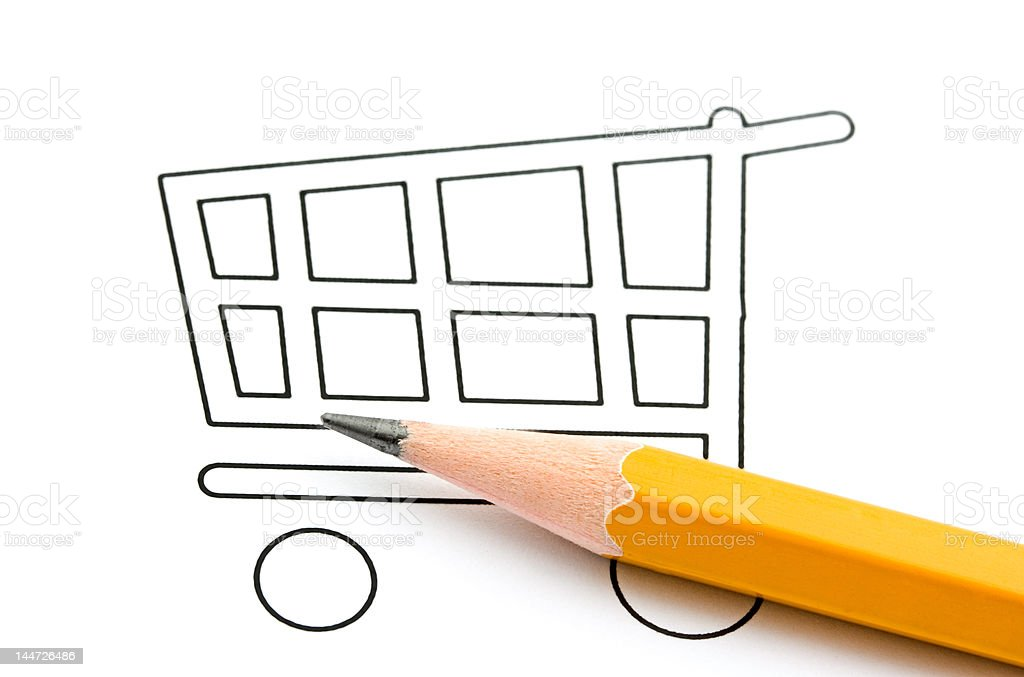 Shopping concept royalty-free stock photo
