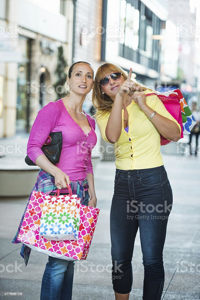Shopping day royalty-free stock photo
