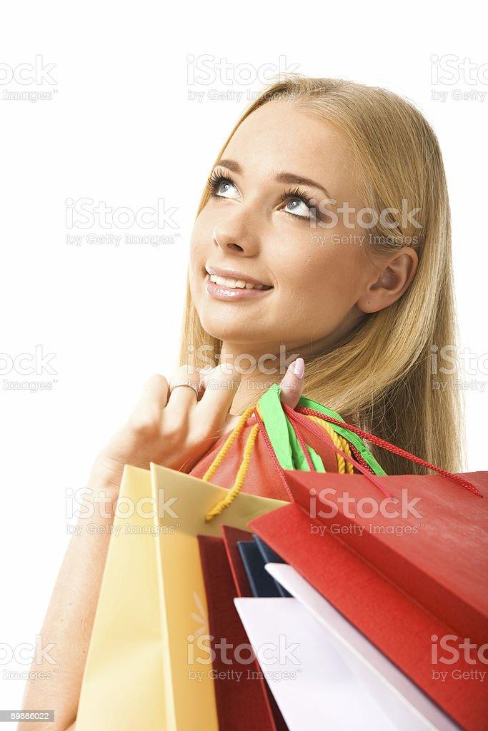Día de compras foto de stock libre de derechos