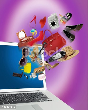 istock shopping for her 483397679