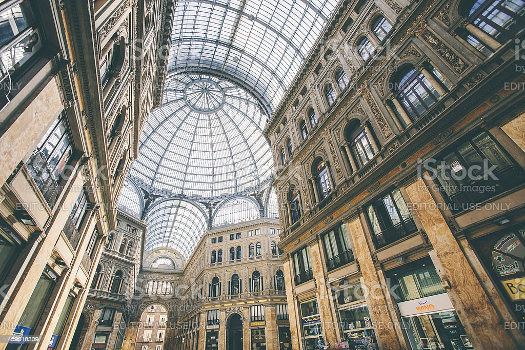 Shopping gallery. royalty-free stock photo