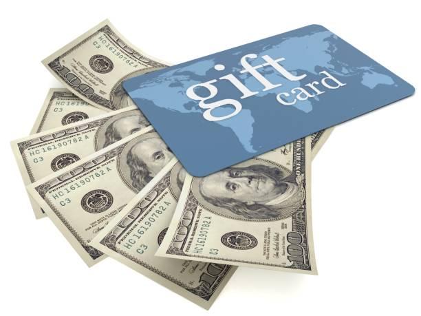 Achat de monnaie de crédit cartes de cadeau - Photo