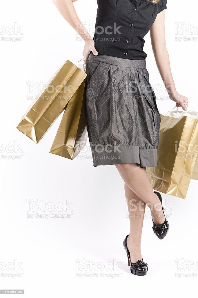Chica de compra foto de stock libre de derechos