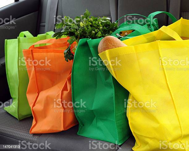 Shopping Green Stock Photo - Download Image Now